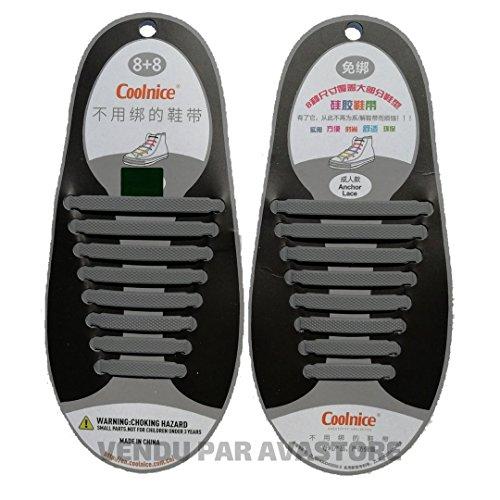 Avastore Adulto Adulto Unisex scarpe delle Lacci Grigio HYTwqH