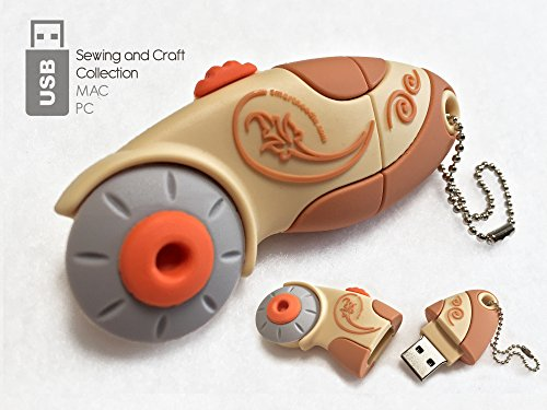 O USB 2 Gb Rotary Cutter Brown Art and Craft Product ()