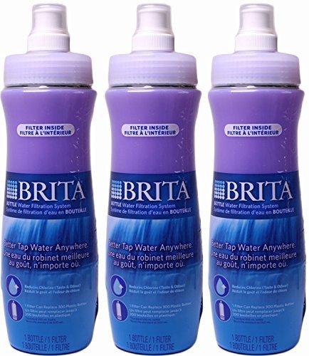 Brita Soft Squeeze Bottle Water Filtration System (3 - Brita Water Filtration