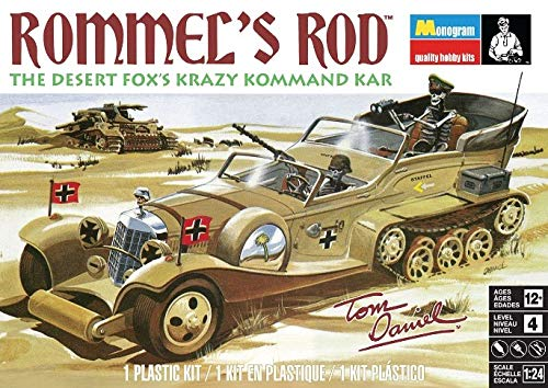 Used, 1/24 Tom Daniel's Rommel's Rod for sale  Delivered anywhere in USA
