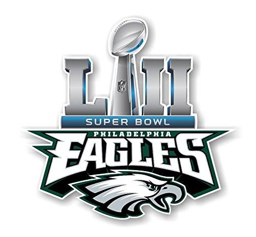 Philadelphia Eagles Champions SB52 Die Cut Decal (5
