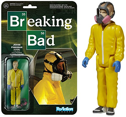 Funko Breaking Bad Jesse Pinkman Cook ReAction 3 3/4-Inch Retro Action Figure