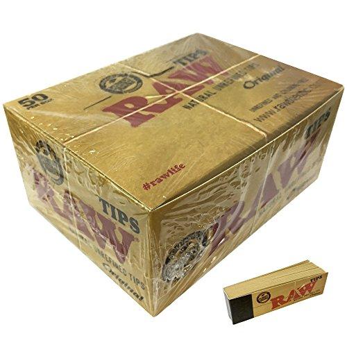 Raw - Filtros de Carton para Fumar (50 libritos de 50 hoj