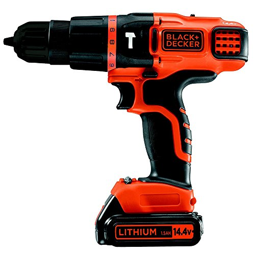 Black & Decker EGBL148KB 14.4V Lithium 2 Gear Hammer Drill 220-240 Volts 50/60Hz Export Only