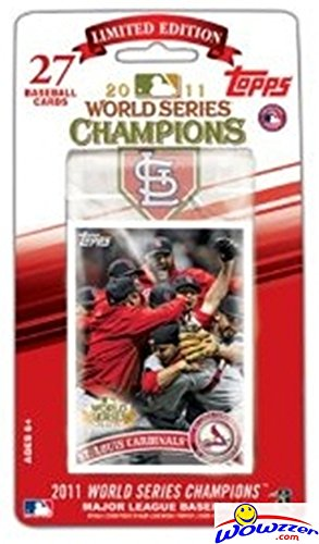 2011 Topps St. Louis Cardinals WORLD SERIES CHAMPIONS 27 Card Factory Set! Features all the Magic Postseason Moments! Includes Cards of Albert Pujols, Lance Berkman, David Freeze, Matt Holiday & (St Louis Cardinals World Series Champions)