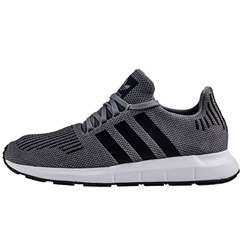Adidas Swift Run Menns Trenere Grå Sort