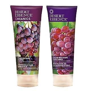Desert Essence Organic Shampoo & Conditioner Ingredients:
