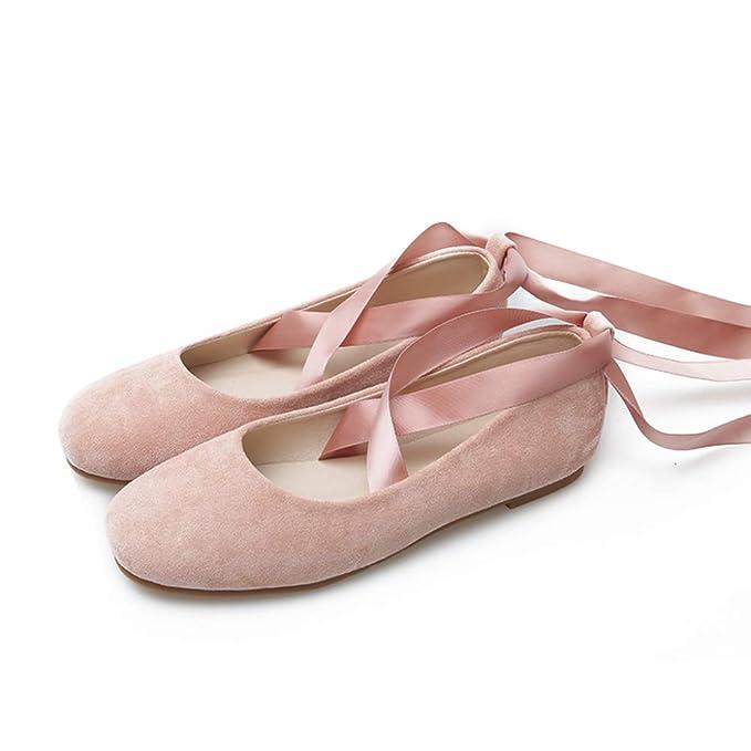 Zapatos De Baile Mocasines De Mujer Zapatos De Zapatillas Zapatos De Ballet Zapatillas De Ballet Zapatos De Vestir De Dama De Honor Zapatos De Trabajo De ...