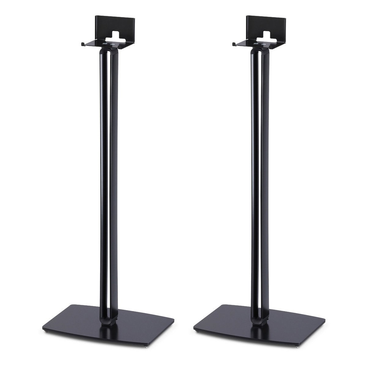 SoundXtra Floor Stands for Bose SoundTouch 10 - Pair (Black) by SoundXtra