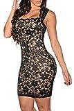 Dearlovers-Women-Vintage-Clubwear-Bodycon-Lace-Party-Dress