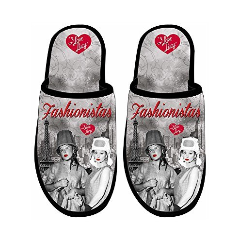 I Love Lucy Slippers Fashionistas - One Size Fits Most