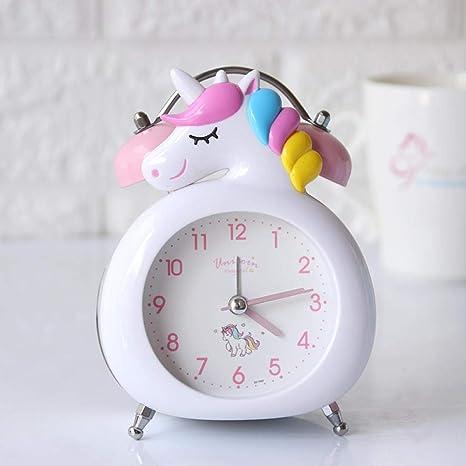 Mzbbn Réveil Digital Horloge Dessin Animé Réveil Enfant