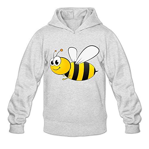 DVPHQ Men's High-quality Cartoon Bee Hoodies Size XL (Beetlejuice Costume Ideas)