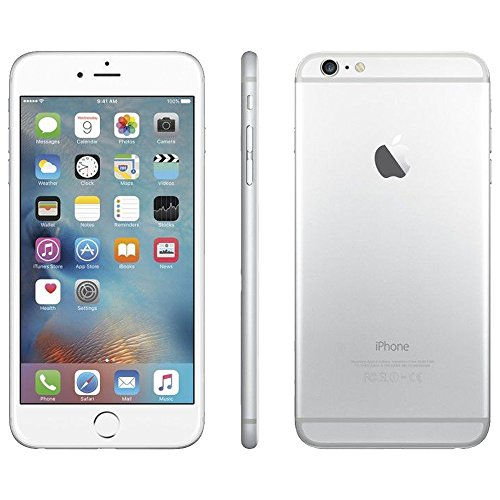 Apple iPhone 6 Factory Unlocked GSM 4G LTE Smartphone (Certified Refurbished) (Silver, 16GB)