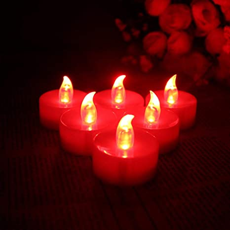 Frote la cabeza sin humo llevó la luz de la vela del ...