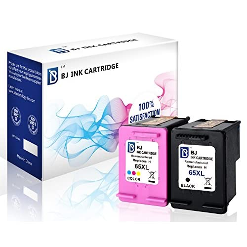 4Pack 65XL Ink Cartridges for HP Deskjet 2652 3758 3721 3752 3755 3732 Printers