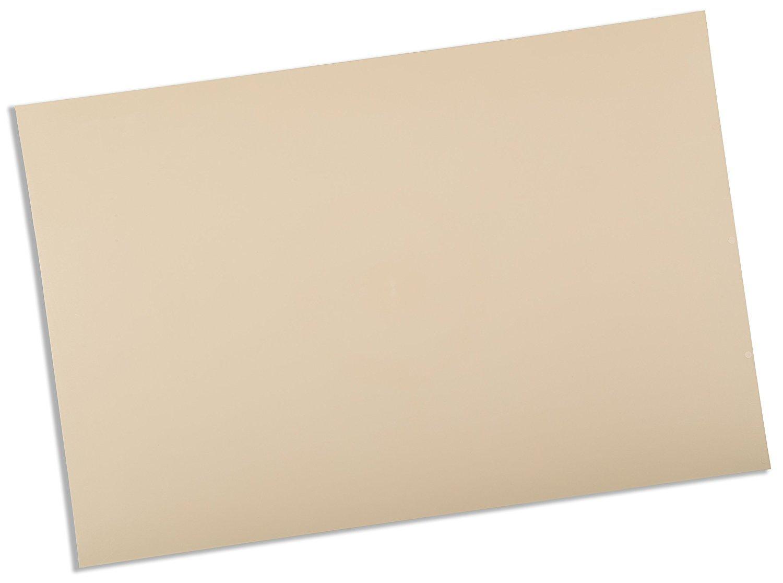 Rolyan Splinting Material Sheet, Ezeform Sample Size, Beige, Solid, 1/8'' x 6'' x 9, Single Sheet by Cedarburg
