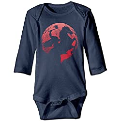 Funny Vintage Unisex Headless Horseman Baby Clothes Infant