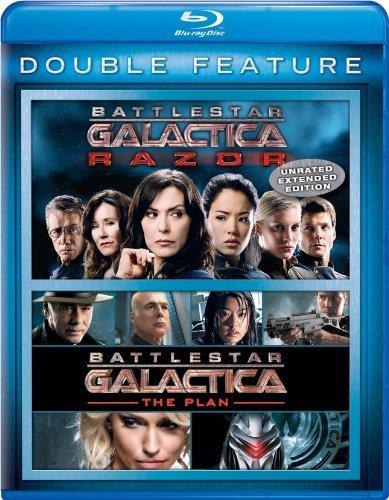 Battlestar Galactica: Razor / Battlestar Galactica: The Plan Double Feature [Blu-ray] by Universal Studios