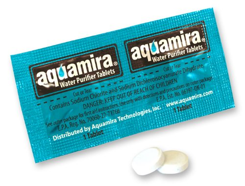 Aquamira Chlorine Dioxide Water Purification Tablets (24 Pack)