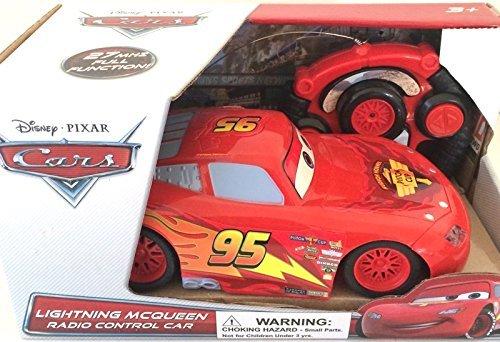Disney Pixar Cars Lightning Mcqueen Radio Control (Car Mcqueen Remote Control)
