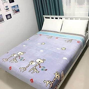 Znzbzt Colchones de felpa de cristal tallado Manta de felpa bebé cama de felpa con colchón