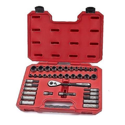 Craftsman 38-PIECE UNIVERSAL SOCKET WRENCH SET 3/8-INCH DRIVE (5 8 Socket 1 2 Inch Drive)