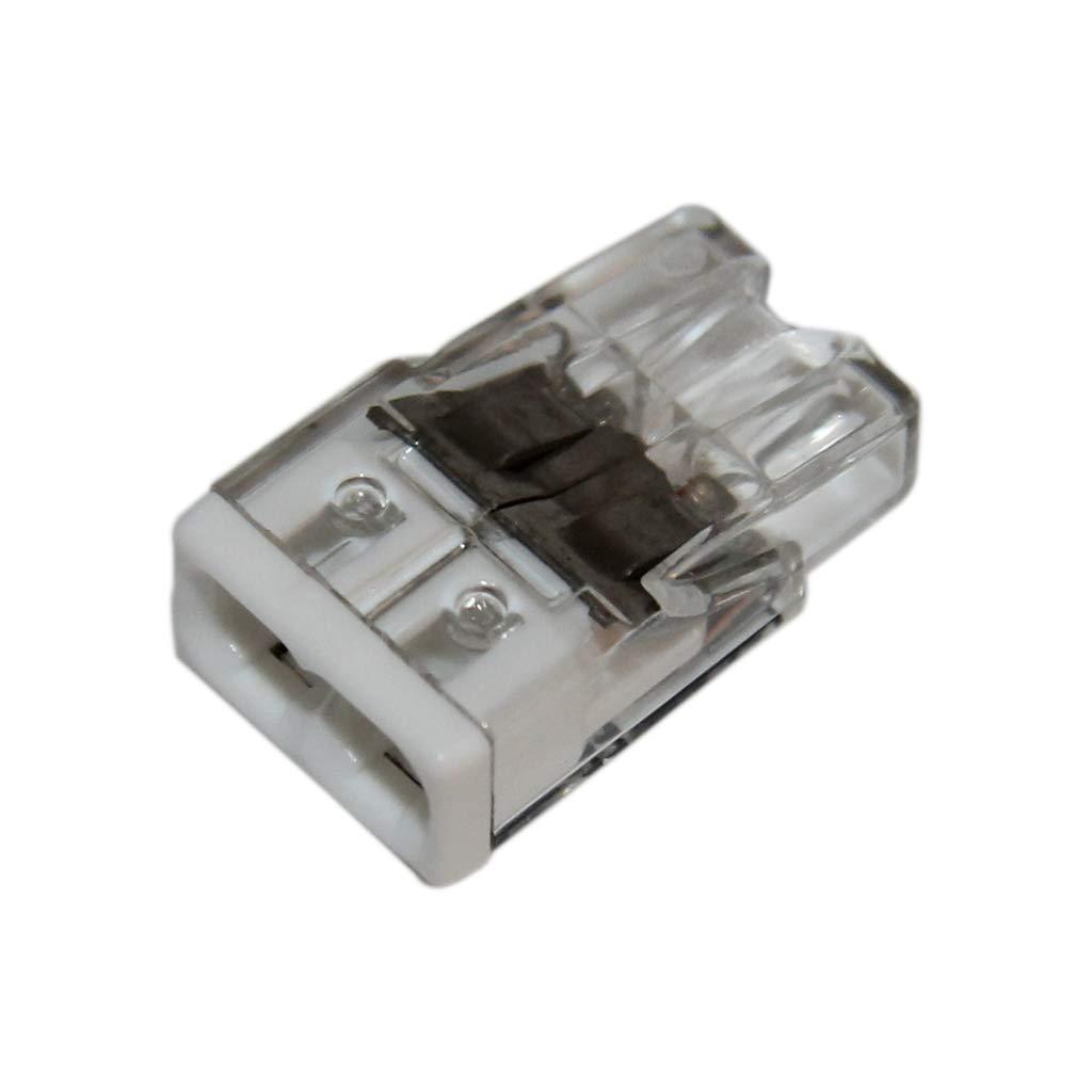 Wago Flacon de 50 mini bornes de connexion automatique 2 entr/ées S2273