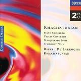 Image of Khachaturian: Piano Concerto/ Violin Concerto/ Symphony 2