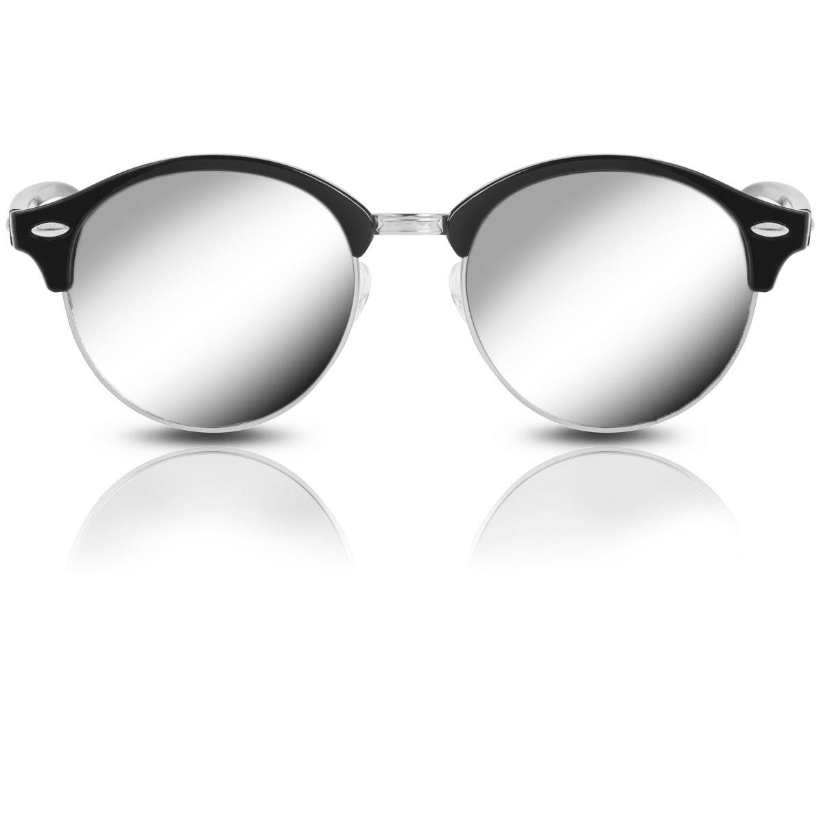 Pilotenbrille für Herren und Damen mit UV 400 Schutz Sonnenbrille im ...