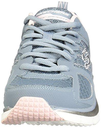 baskets femmes SUCRE SKECHERS basses chaussures CARTE DE 12713 Blu 1vwHqFH