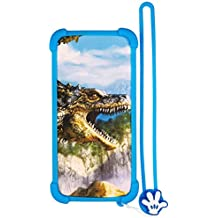 Case for Texet Tm-5075 Case Silicone Border + PC Hard backplane Stand Cover L