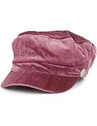 Women's Newsboy Velvet Baker Boy Style Cabbie Hat