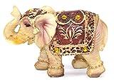 Feng Shui Vintage 3''(H) Elephant Wealth Lucky Figurine Home Decor Housewarming Gift US Seller