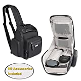 BUBM Travel Backpack Compatible with DJI Mavic Pro Drone, Protective Storage Bag Organizer Case for Aircraft Body, Remote Controller, Battery, Charger and More, Great to Grab and Go.