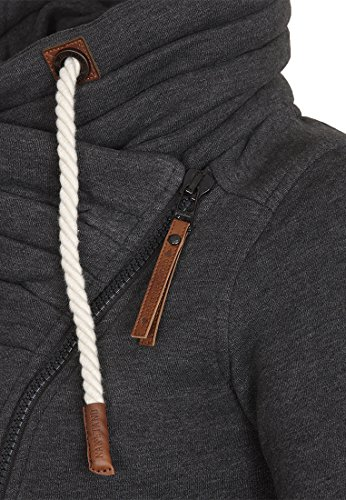 Naketano Female Zipped Jacket Jedi Path Anthracite Melange tT2sacO
