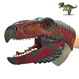 COGO MAN Dinosaur Hand Puppet , Dinosaur Puppet Rubber | Realistic Dinosaur Head Puppet | Lifelike Hand Puppet Toys | Role Play Educational Learning Toys for Kids and Adults, Ornithomimus