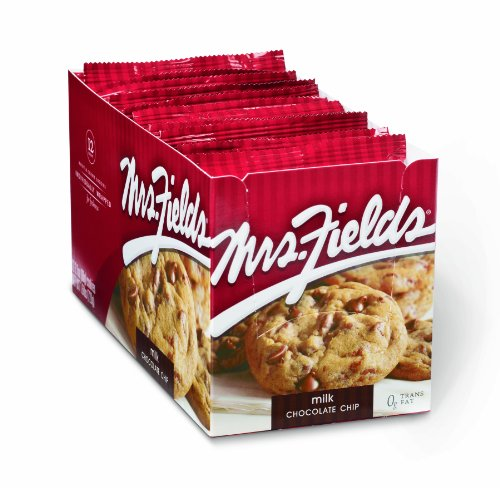 Mrs Fields Chocolate Cookies (Mrs. Fields Cookies, Milk Chocolate Chip, 12-Count Cookies (Pack of 2))