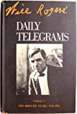 Will Rogers' Daily Telegrams, Will Rogers, 0914956116