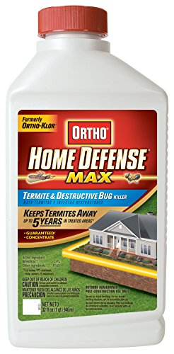 Ortho Home Defense MAX Termite and Destructive Bug Killer Concentrate, 32-Ounce (Not Sold in MA, NY, RI) (Best Home Perimeter Bug Spray)