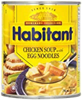 Habitant Chicken and Egg Noodle Soup, 796 ml
