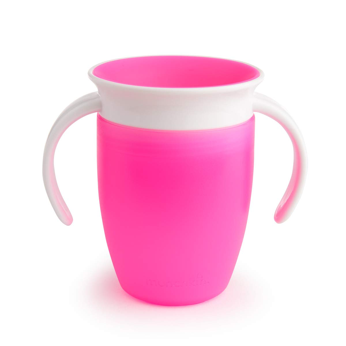 Munchkin Miracle 360 Degree Stainless Steel Sippy Cup 10 oz296 ml Pink