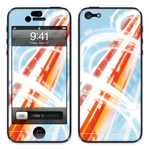 Diabloskinz B0081-0007-0015 Vinyl Skin für Apple iPhone 5/5S Optic Cable