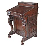 Design Toscano The Captain's Davenport Roll Top Desk