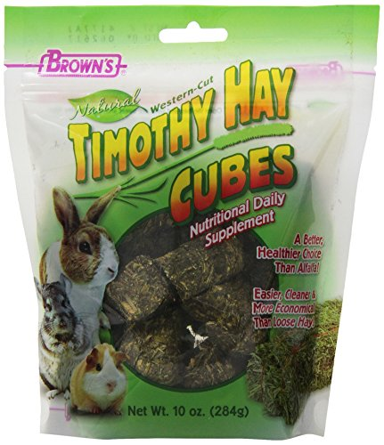 51v We9TXBL - F.M.Brown's 44089 Brown's Natural Timothy Hay Cubes, 10-Ounce