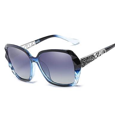 Zhongke Gafas de sol polarizadas para mujer con protección ...