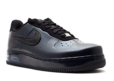 0847240447 Nike Mens Air Force 1 Foamposite Pro Low Stealth 532461-002 9  Anthracite/Black