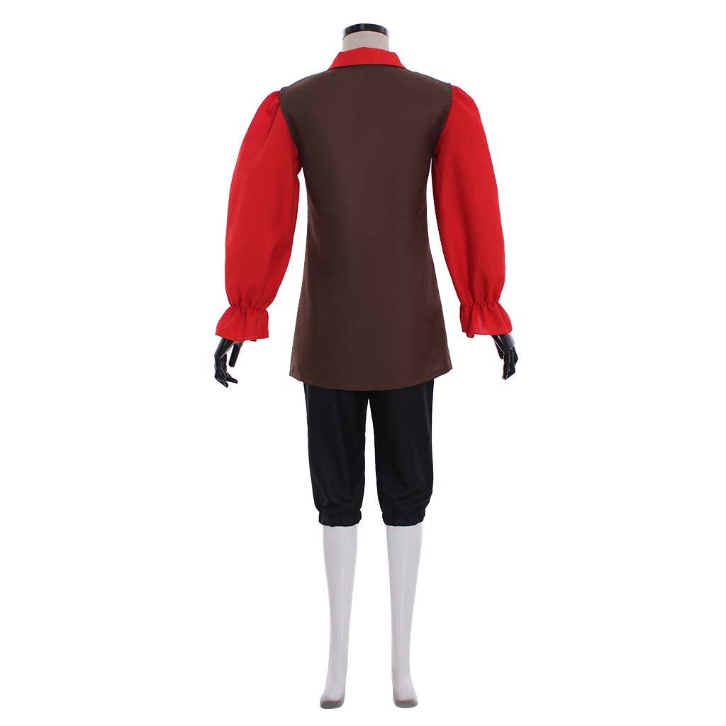 Amazon.com: CosplayDiy - Traje para hombre para disfraz de ...