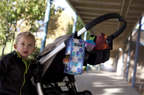 PkIt Double Baby Bottle Bag - Floral by PackIt (Image #1)