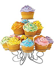 Wilton Cupcakes 'N More Small Cupcake Stand - Metal Dessert Stand